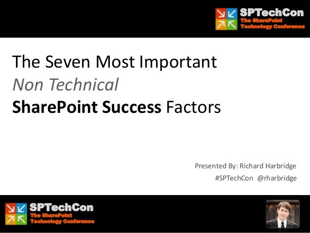 SPTechCon The SharePoint Technology Conference SPTechCon The SharePoint Technology Conference SPTechCon The SharePoint Tec...