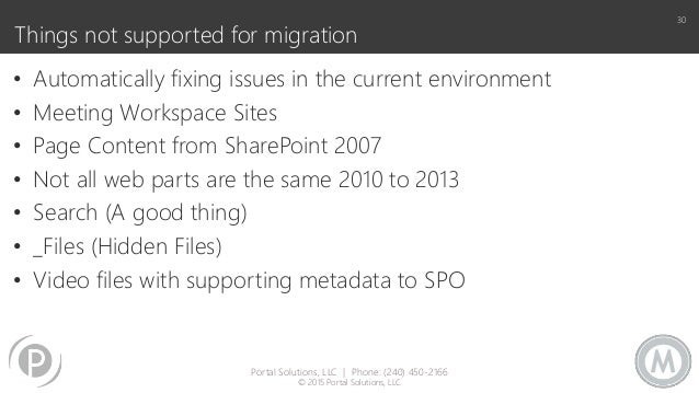 The Slippery Slope of Migrating to SharePoint Online or On