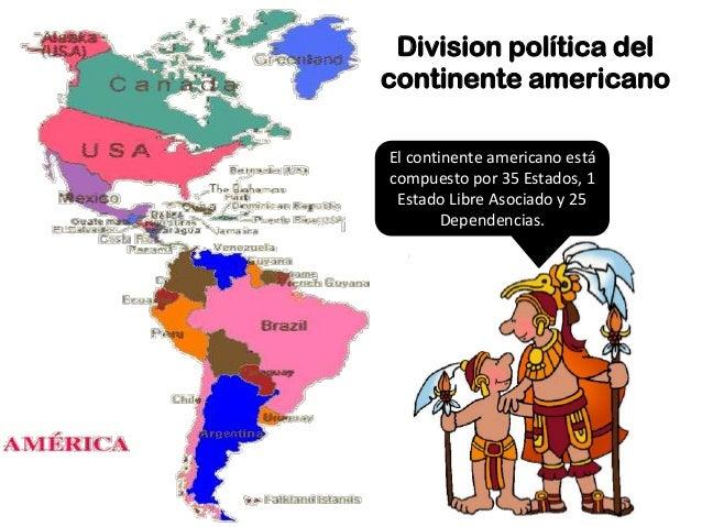 Explorando nuestro continente am rica - Continente y contenido ...