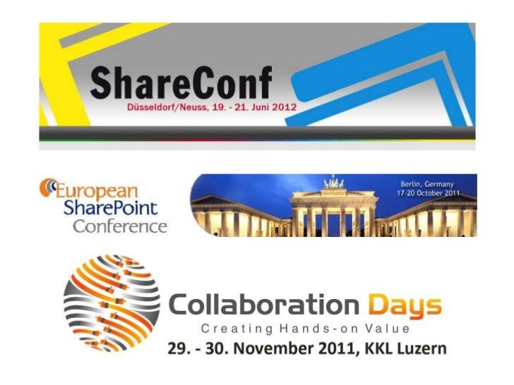 SharePoint, HTML5 und mobile Geräte (SharePoint UserGroup Dresden 11/2011) Slide 3