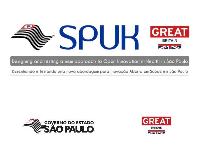 Desenhando e testando uma nova abordagem para inovação aberta em saúde em São Paulo