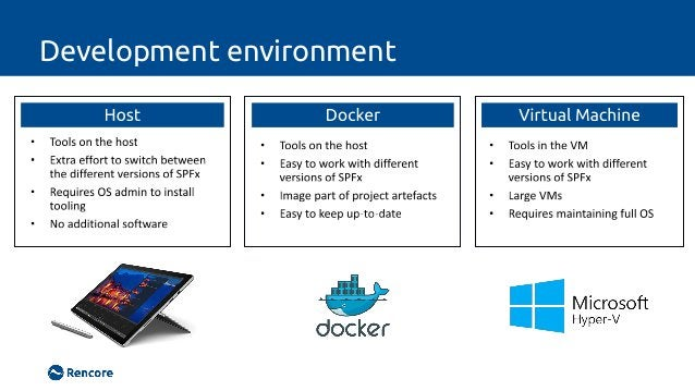 Install SPFx Yeoman generator locally • npm i yo -g • npm i @microsoft/generator-sharepoint • yo @microsoft/sharepoint • n...