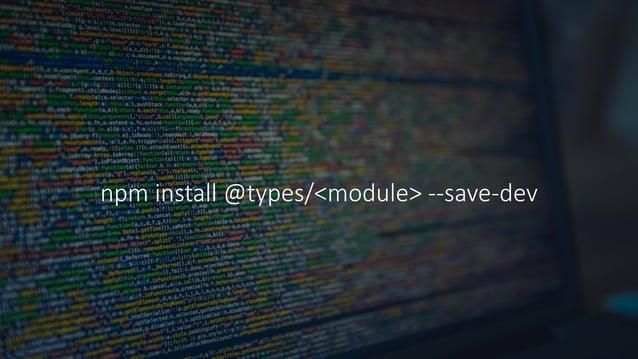 UsingTypeScriptinVisual Studio