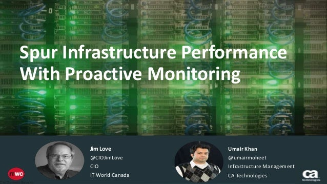 Always In Title Case;  2 Lines Preferred  Spur Infrastructure Performance  With Proactive Monitoring  Subtitle or presente...