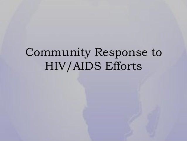 Community Response to HIV/AIDS Efforts