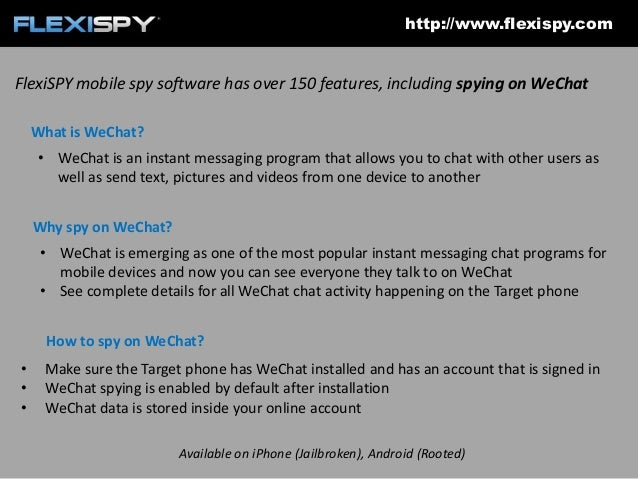 How to spy on WeChat with FlexiSPY
