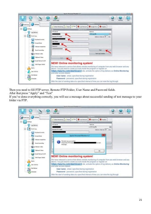Spyrix Software Manual