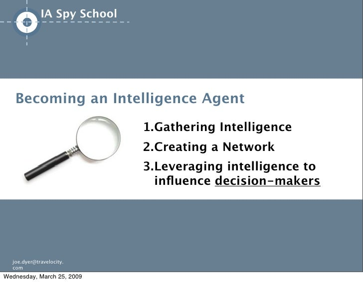 IA Spy School             This an Intelligence Agent              is very    Becoming          important                  ...