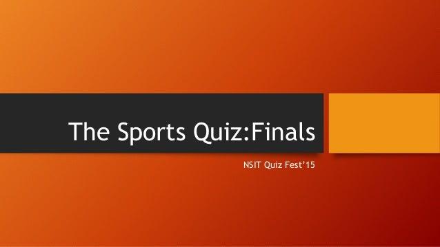 Quizfest win it