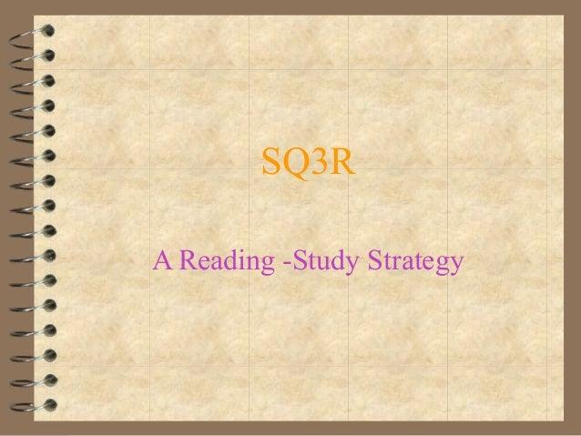 SQ3RA Reading -Study Strategy