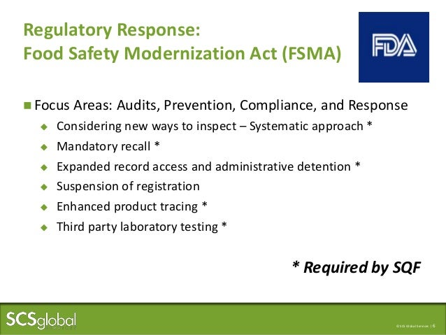 SQF Certification for Packaging Companies = Food Safety Success