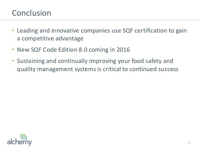 sqf code edition 8 guidance document
