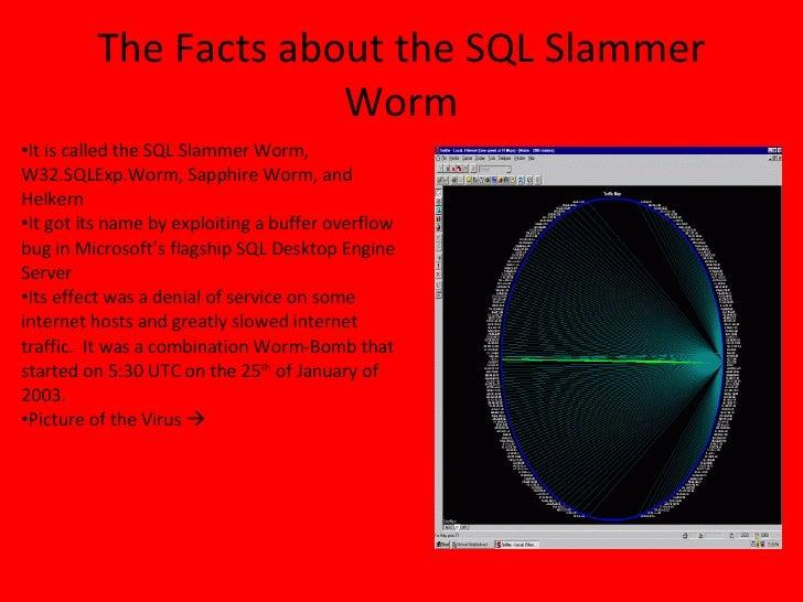 slammer worm virus