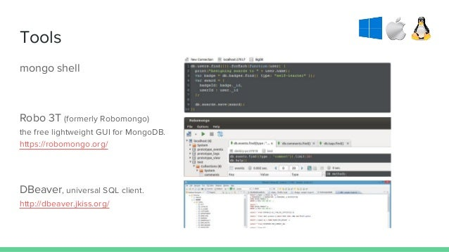 SQL vs NoSQL, an experiment with MongoDB