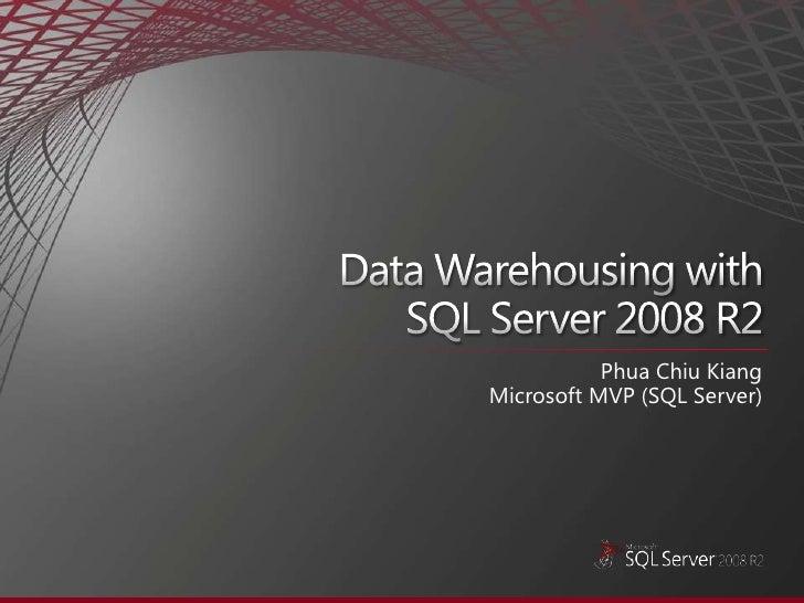 Phua Chiu Kiang Microsoft MVP (SQL Server)