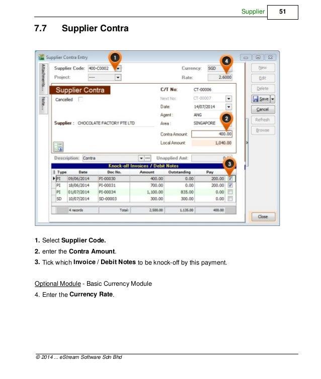 SQL Accounting Software User Manual