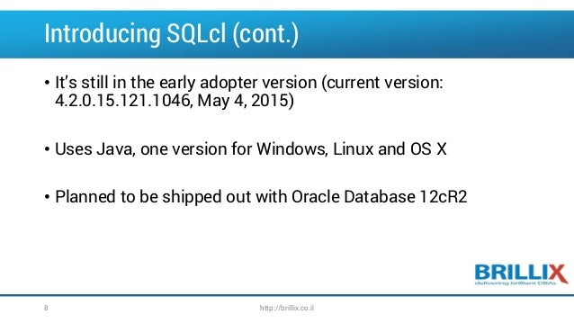 SQLcl the next generation of SQLPlus?