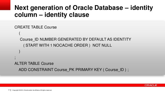 Oracle sql developer data modeler 3 3 new features - Alter table add constraint primary key ...