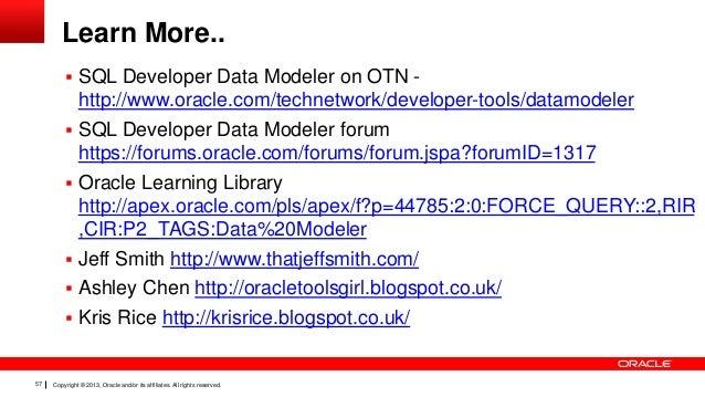 Oracle Sql Developer Data Modeler 3 3 new features