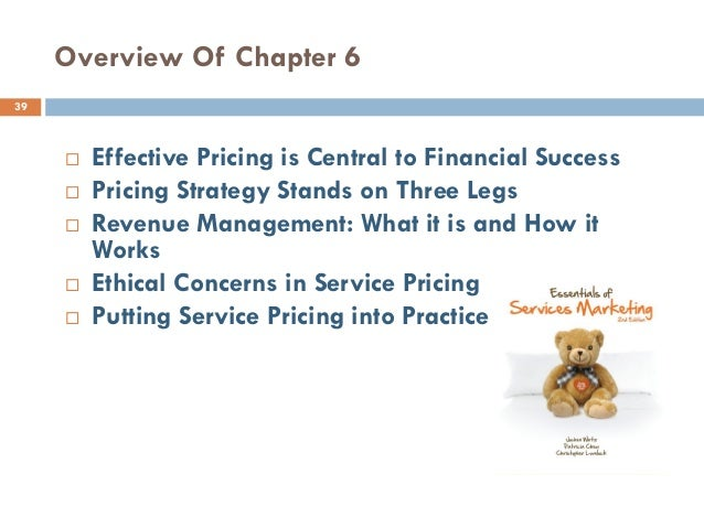 revenue management and pricing essay Reaction to their use of revenue-management pricing in this chapter, i willaddress these questions through a review of the relevant literature, current practice, and.