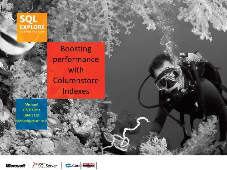 Boosting                      performance                          with                      Columnstore                  ...