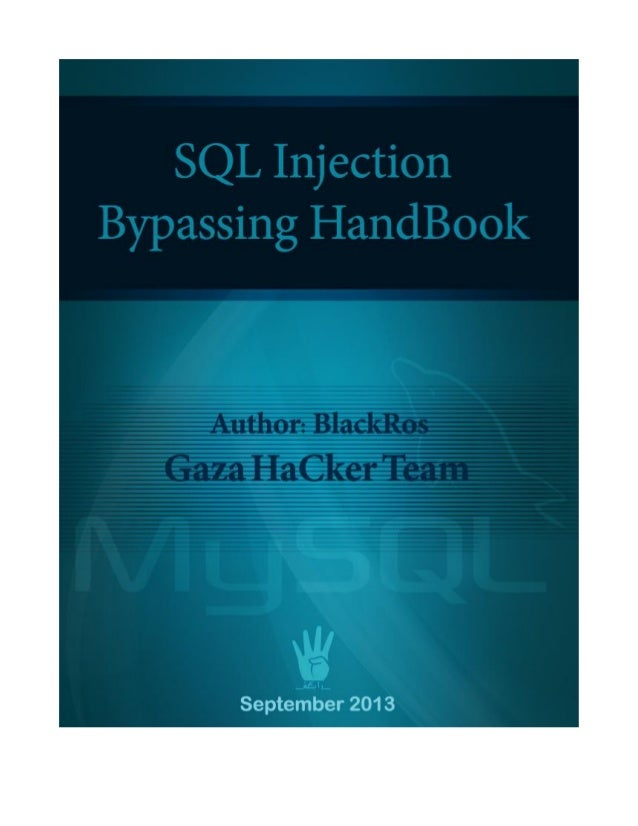 Sql injection bypassing hand book blackrose