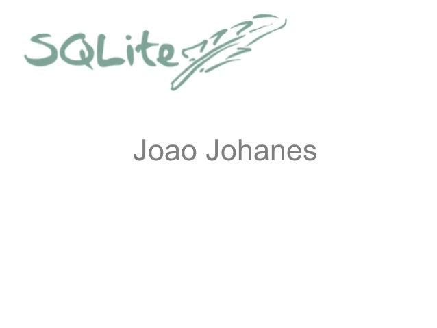Joao Johanes