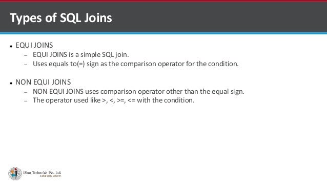Sql Joins Using Venn Diagrams