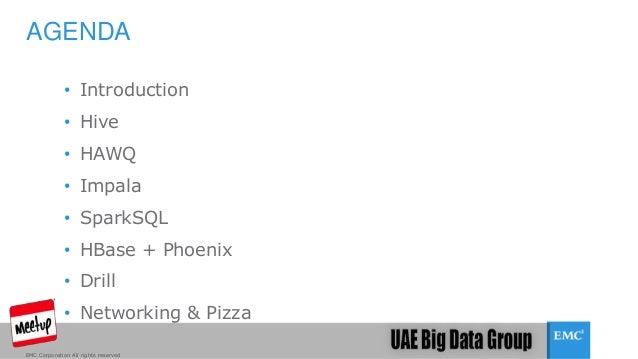 SQL On Hadoop Slide 2