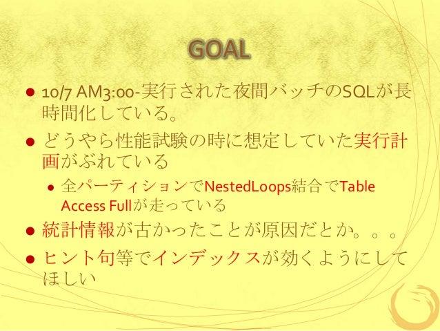 はじめてのSQLチューニング(oracle) Slide 2