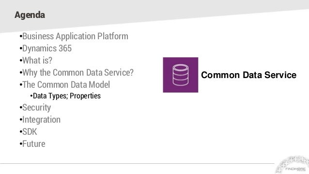 Common Data Service – A Business Database!