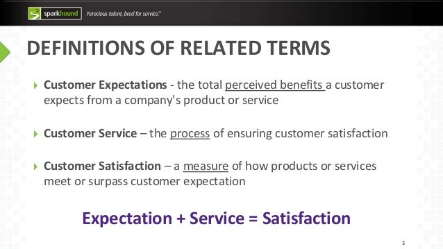 what is customer expectation