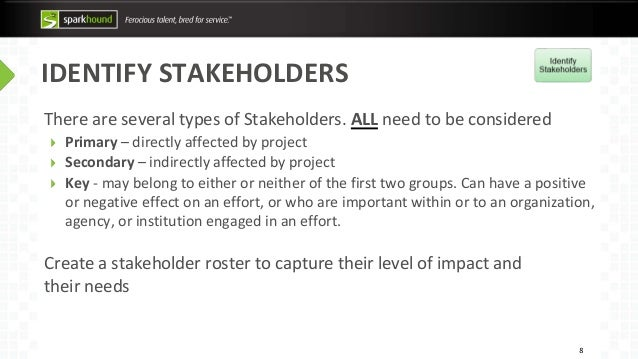 stakeholders needs and expectations