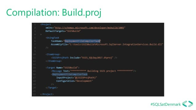 #SQLSatDenmark Compilation: Build.proj
