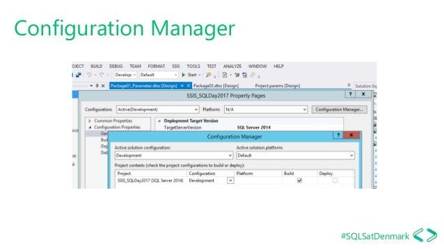 #SQLSatDenmark Configuration Manager