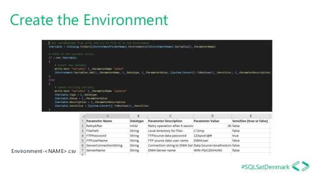 #SQLSatDenmark Create the Environment Environment-<NAME>.csv