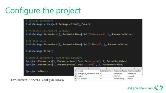 #SQLSatDenmark Configure the project Environment-<NAME>-Configuration.csv