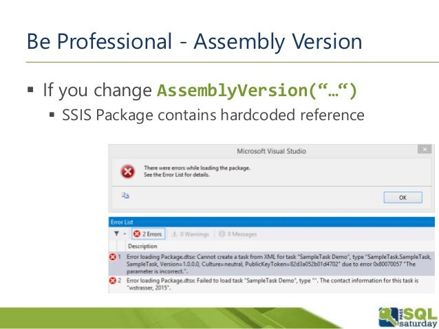 Professional Recycling - SSIS Custom Control Flow Components
