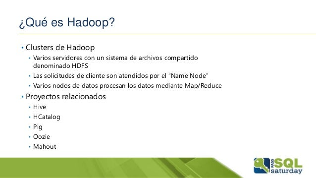 resumen microsoft big data stack