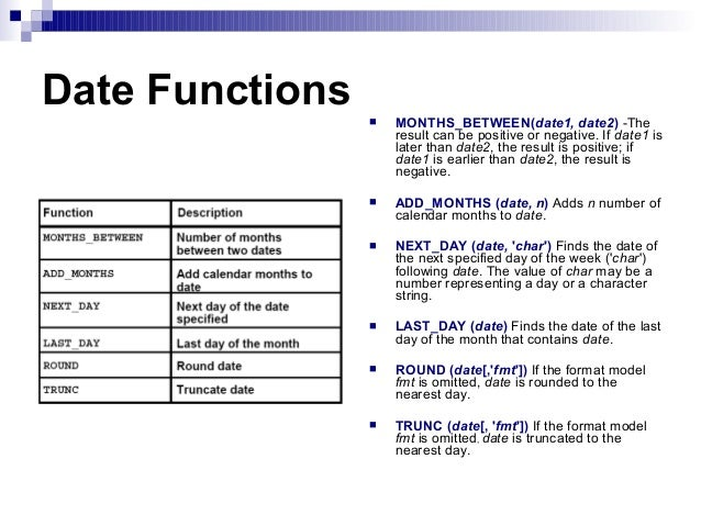 DATE FUNCTIONS IN SQL PDF DOWNLOAD