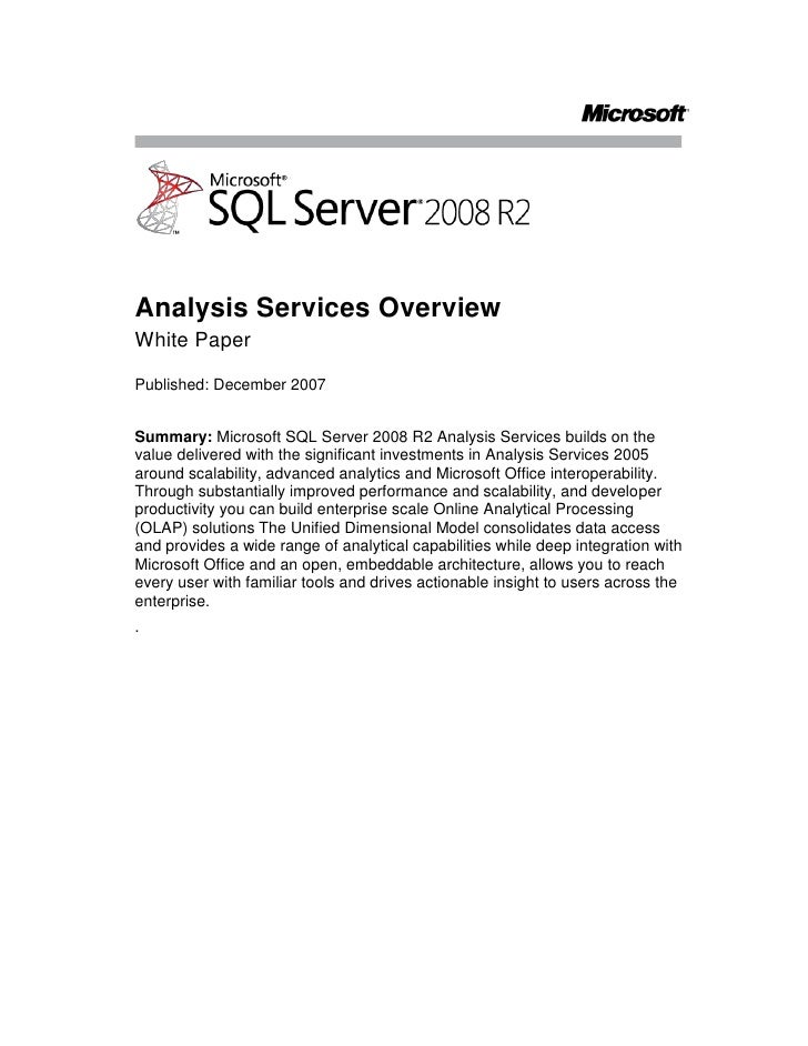 Download Microsoft® SQL Server® 2008 R2 Feature Pack from ...