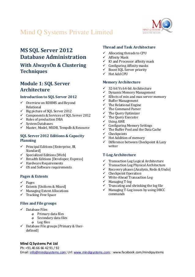 Mind Q Systems Private LimitedMind Q Systems Pvt LtdPh: +91.40.66 66 42 91 / 92Email: info@mindqsystems.com; Url: www.mind...
