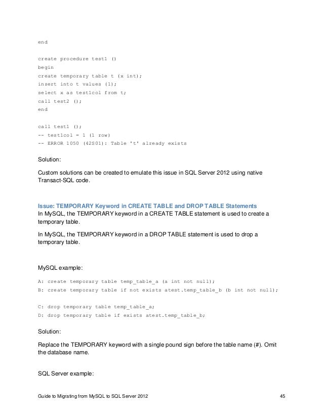 Sql server 2012_guide_to_migrating_from_my_sql_to_sql server