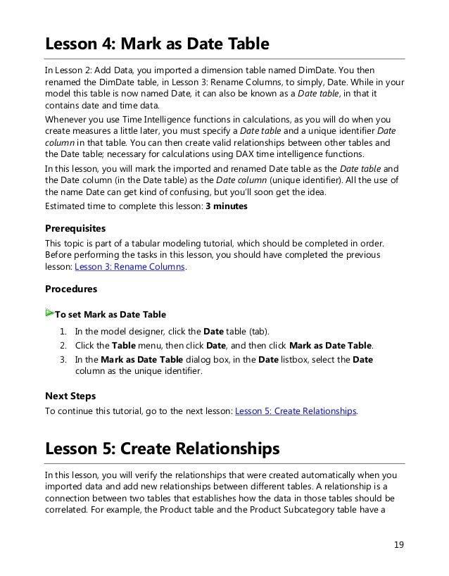 Sql server 2012 tutorials analysis services tabular modeling