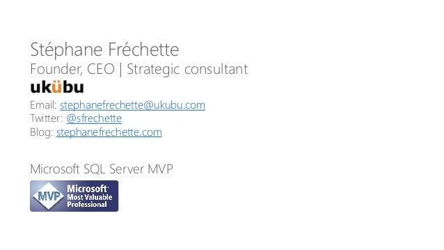 Email: stephanefrechette@ukubu.com Twitter: @sfrechette Blog: stephanefrechette.com Stéphane Fréchette Founder, CEO | Stra...