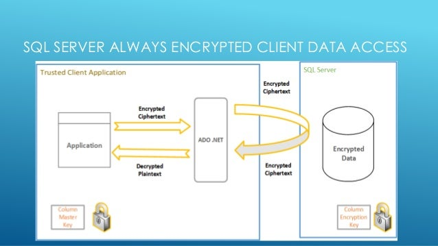 SQL SERVER ALWAYS ENCRYPTED CLIENT DATA ACCESS