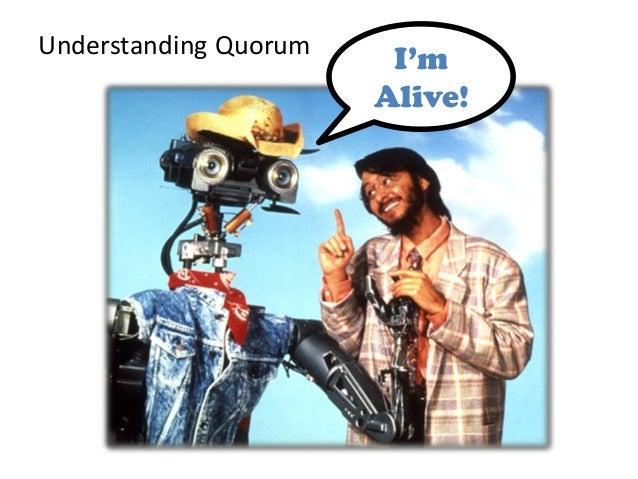 Understanding QuorumI'mAlive!