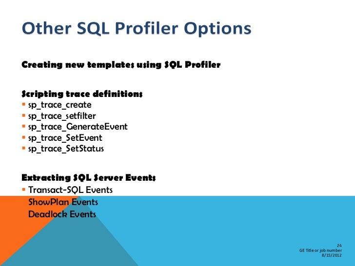 sql server performance tuning pdf