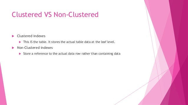 Execution Plans  Execution plans are the roadmap for what algorithms SQL server should choose to run a query  If possibl...