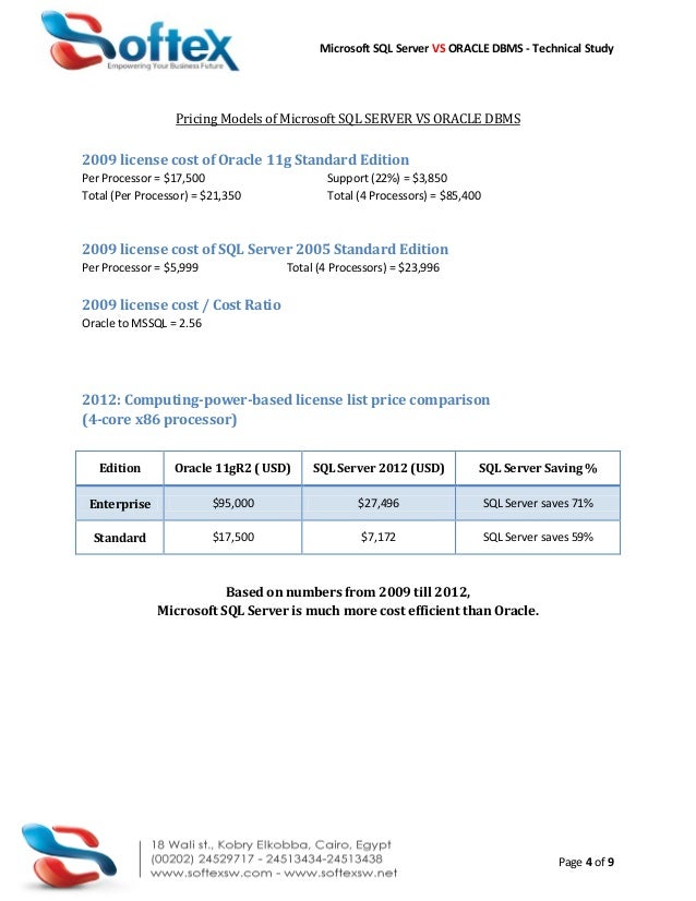 Comparative Analysis Of Dbms Essays
